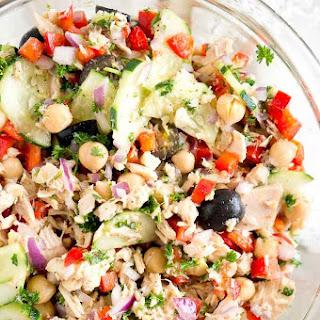 Mediterranean Tuna Salad.