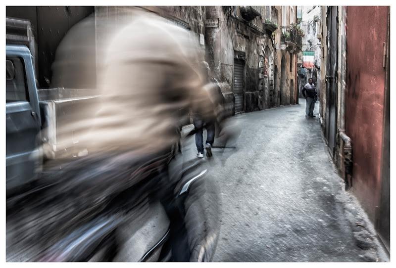 Uomo in bicicletta di ZERRUSO