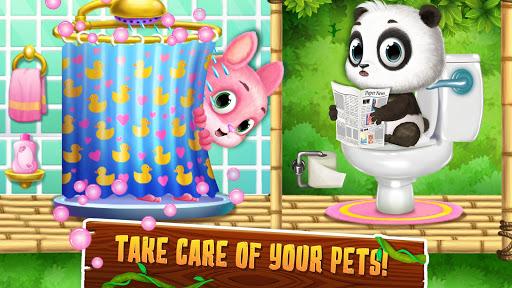 Panda Lu Treehouse - Build & Play with Tiny Pets 1.0.401 screenshots 1