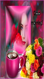 good morning frame - náhled