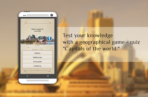 Quiz-Capitals of the world - náhled