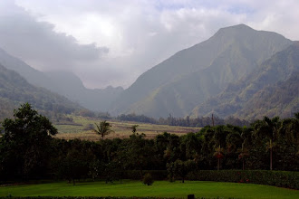 Photo: Waikapu Valley as seen from the Maui Tropical Plantation