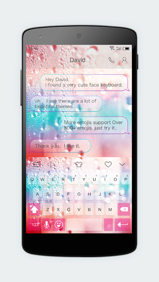 Emoji Keyboard 7 - Cute Sticker, GIF, Emoticons- screenshot