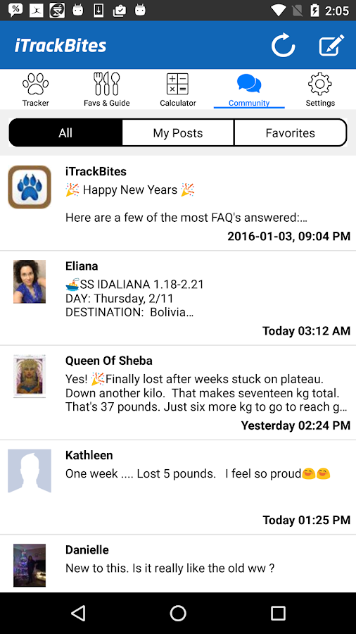 iTrackBites: Smart Weight Loss- screenshot