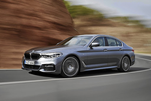 The BMW 5 Series.    Picture: NEWSPRESS
