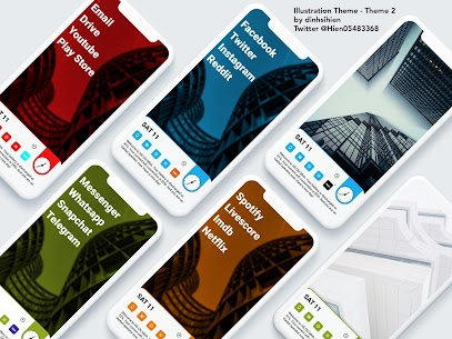 Illustration Theme for KLWP 2020.Apr.11.14 Paid Latest APK Free Download 3