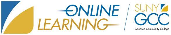 GCC Online Learning Logo