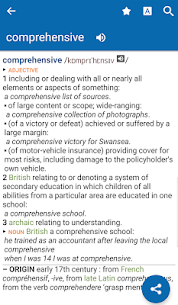Oxford Dictionary of English & Thesaurus Mod Apk Download For Android 1
