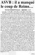 Photo: 25-11-96 N2F Yutz-Thionville trop juste face à Reims 1-3