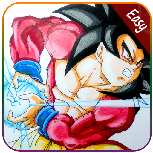 Download How To Draw Goku Super Saiyan By Day Drawing Apk
