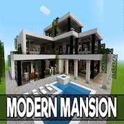 App Icon for Modern Mansions for MCPE App in Mexico Play Store
