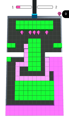 Color Blocks Fill u2013 3D Sayisfying Games u2013 puzzle 1.9.2 screenshots 2