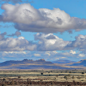 On a Winters Day by Tracy Lynn Hart - Landscapes Weather ( clouds, hdr, travel, landscape, place )
