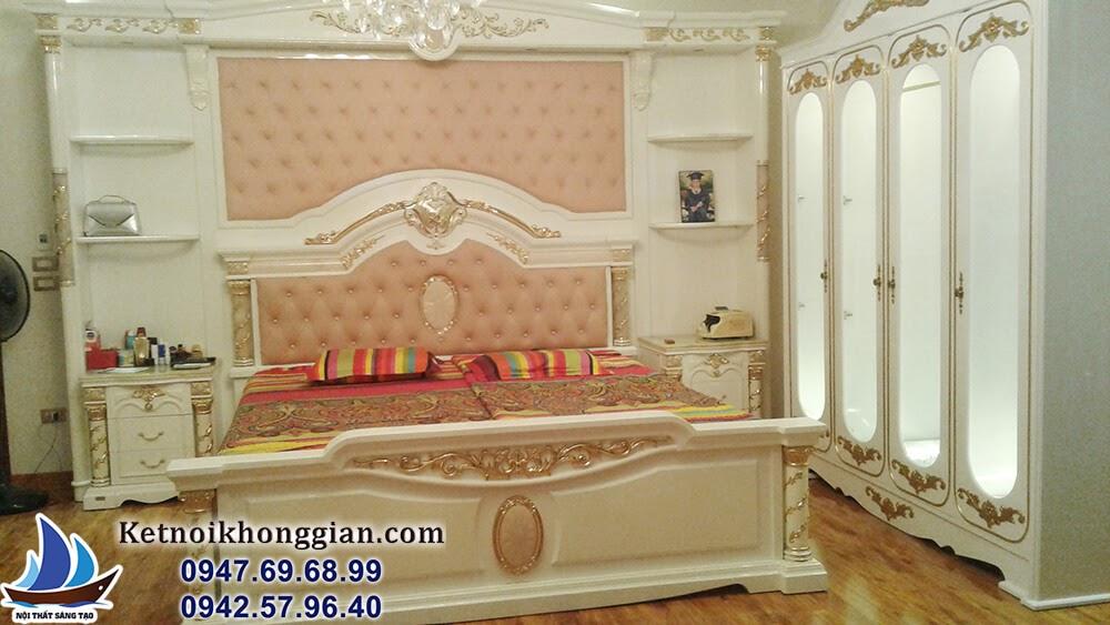 thiết kế nội thất phòng ngủ sang trọng