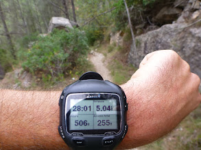 Photo: Ritmo de 3h30min el Trail
