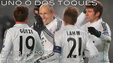 Photo: El Bayern establece un nuevo récord de victorias consecutivas en UCL