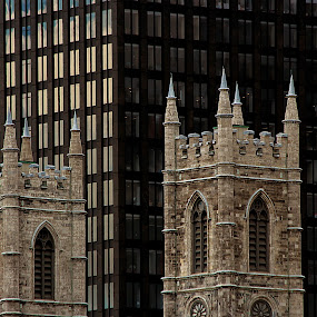 Modern & Neogothic by Michel Lapensée - Buildings & Architecture Other Exteriors ( modern, building, church, architecture )