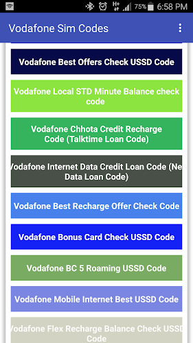 Vodafone Online Recharge Czech Republic