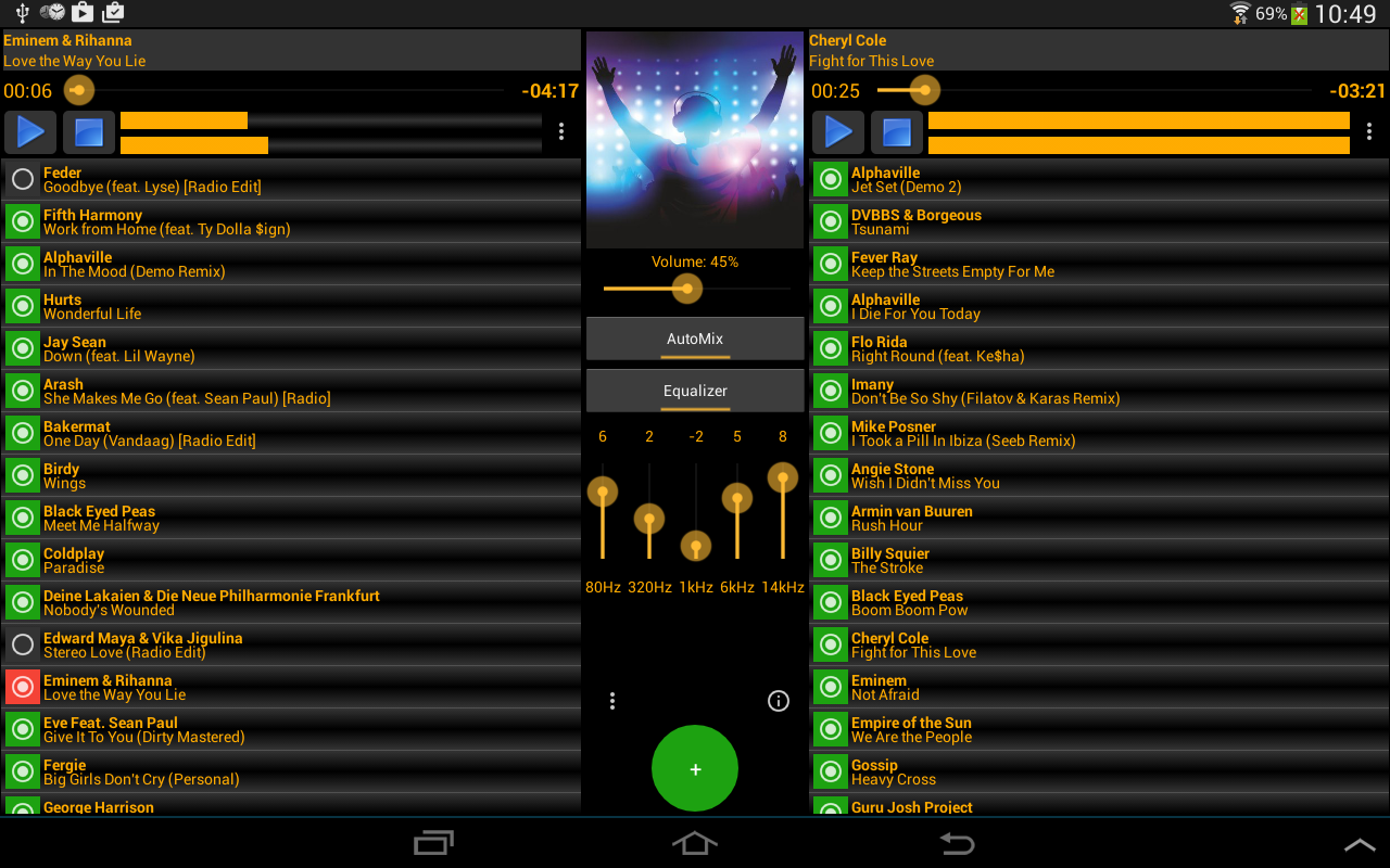 MP3-DJ Free- screenshot