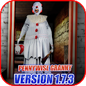Pennywise Evil Clown Granny - Horror Game 2019 icon