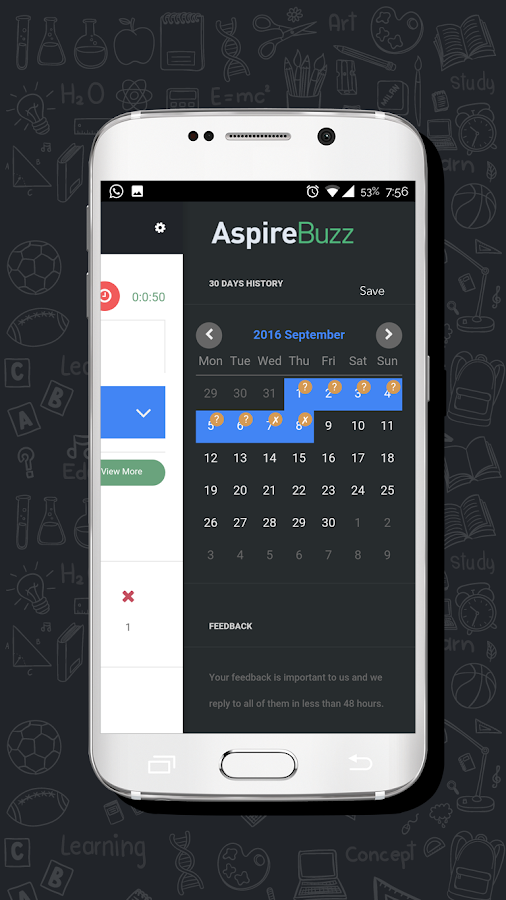 AspireBuzz- screenshot