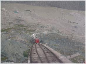 Photo: Carretera de Grossglockner-Hochalpenstrasse ( Austria) Tren de subida al glaciar. http://www.viajesenfamilia.it/