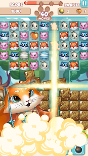Lovely Pets PRO: Match 3 Screenshot