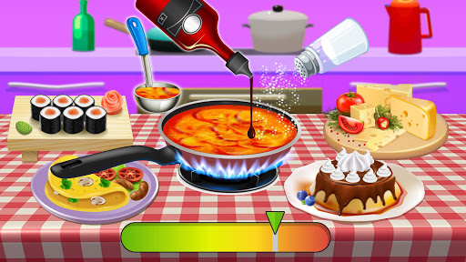 World Cookbook Chef Recipes: Cooking in Restaurant 1.1 screenshots 6