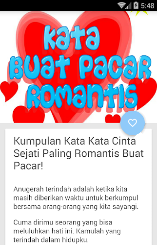 Download Kata Kata Buat Pacar Apk Latest Version App By