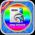 music midi karaoke icon