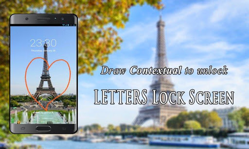 Letters Lock Screen for PC