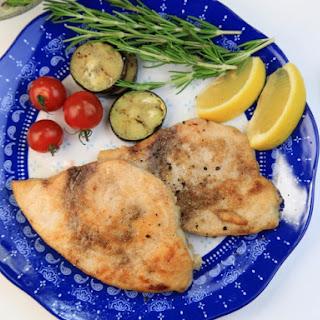Cajun Pan Fried Swordfish.