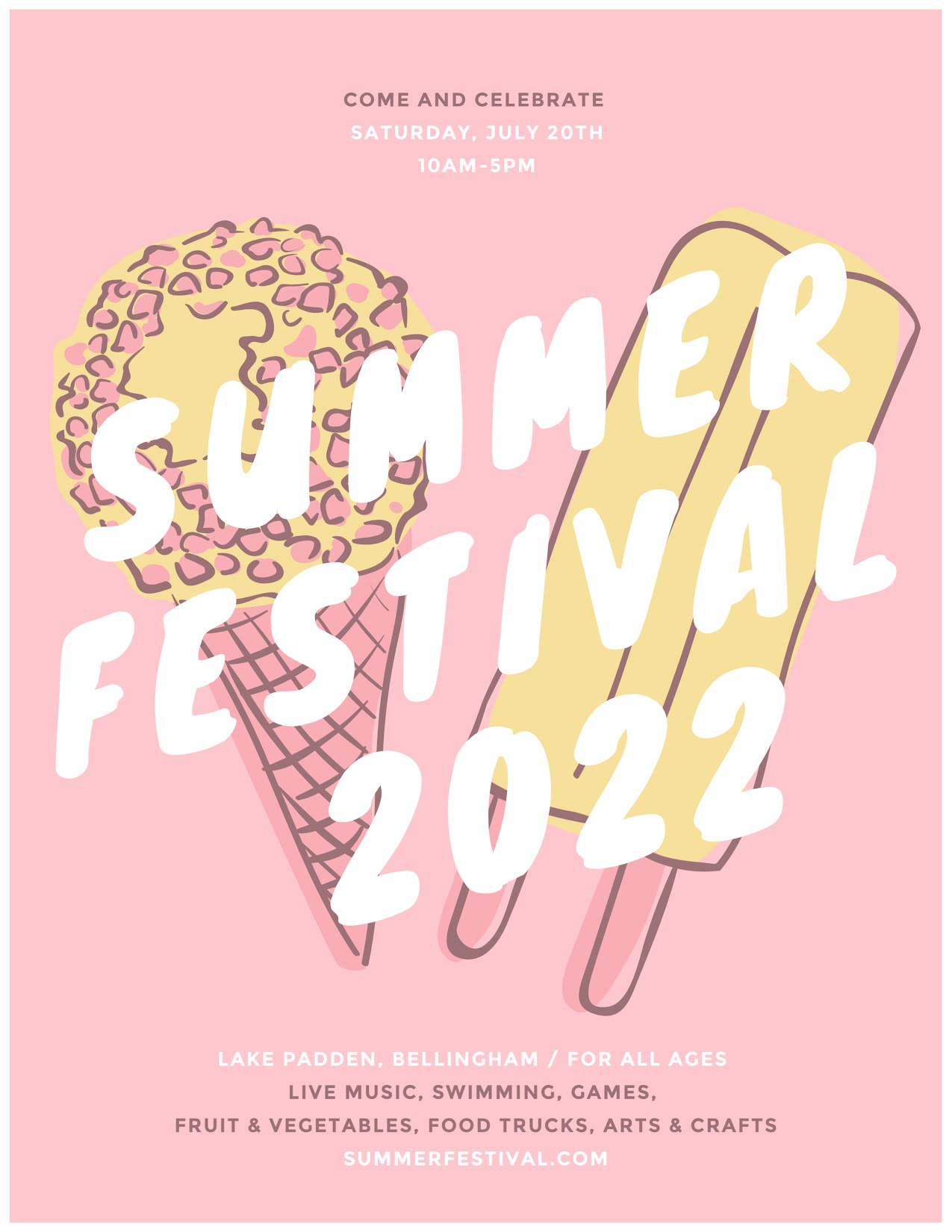 Summer Festival - Flyer Template