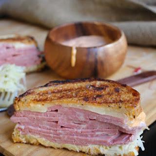 Black Truffle Reuben Sandwich