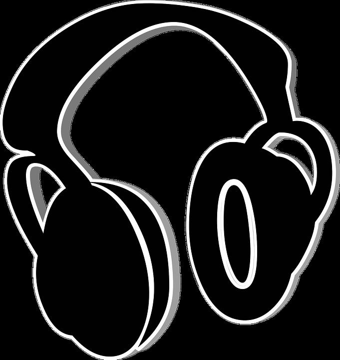 Black, Headphones, Hearing, Icon, Listen, Music