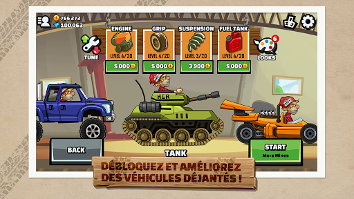Hill Climb Racing 2  captures d'écran 1