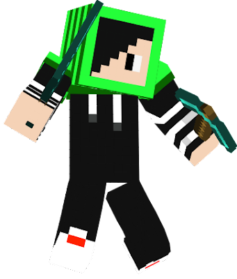 all creepers friendly with him and he can explode himself like a creeper