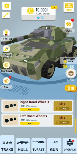 Idle Tanks 3D apkdebit screenshots 15