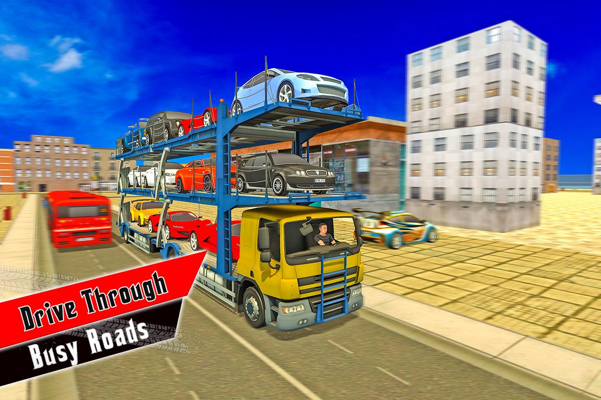 Multi Storey Car Transporter Truck- screenshot