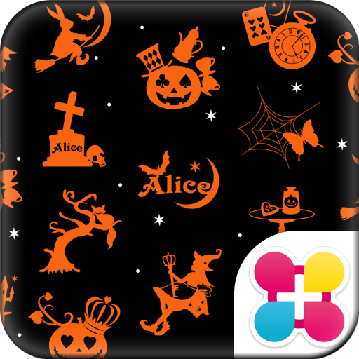 Alice in Halloween Land Theme Icon
