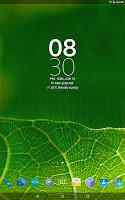 Screenshot of Digital Clock Widget Xperia