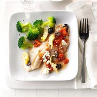 Mediterranean Tilapia Feta Recipes
