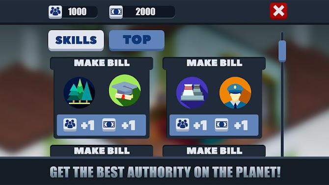 Democracy President Job Simulator - Career Mode Android 8