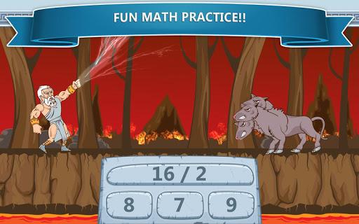 Math Games - Zeus vs. Monsters 1.19 screenshots 8