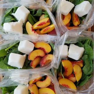 Peaches n' Cream Green Smoothie Prep Packs