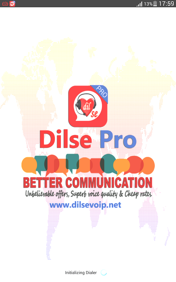 Dilse Pro Dialer- screenshot