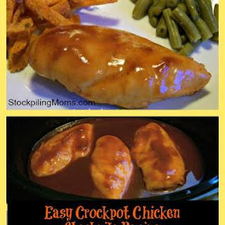 Crockpot Barbecue Chicken Recipe