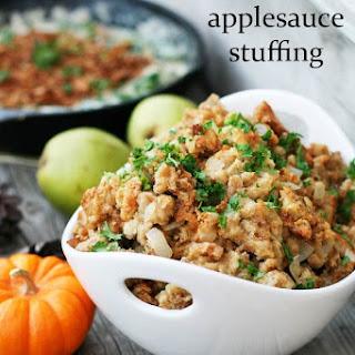 Applesauce Stuffing.