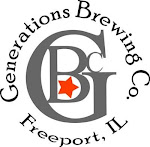 Logo for Generations Brewing Co.