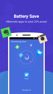 Phoenixling Clean - fast, small and esay to use. - screenshot